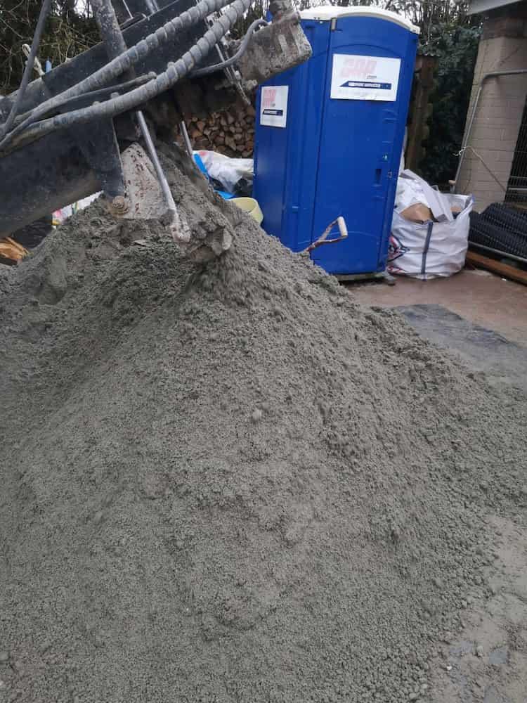 cement dirt